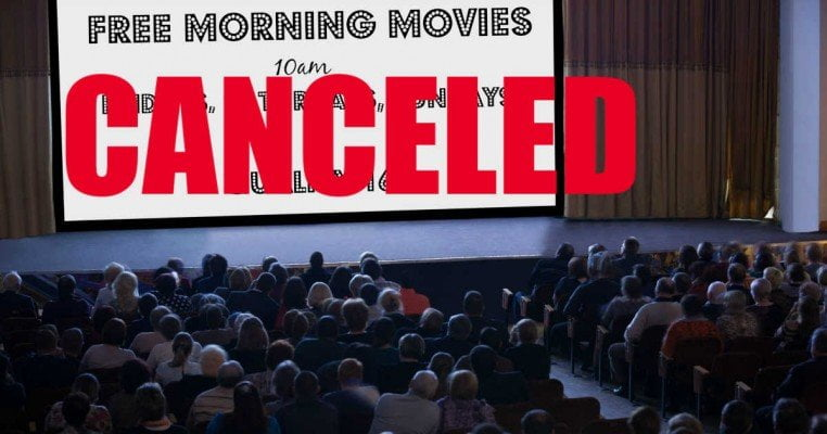 Quality 16 Free Morning Movies - Canceled for Spring 2020