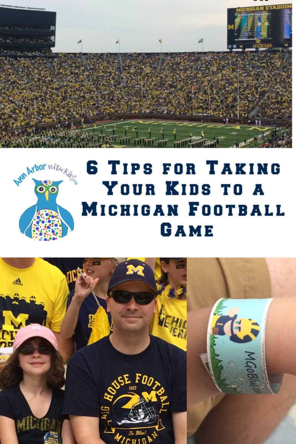 6 Tips for Taking your Kids to a Michigan Football Game #GoBlue #AnnArbor