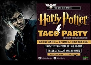 Yer a Wizard Taco Party
