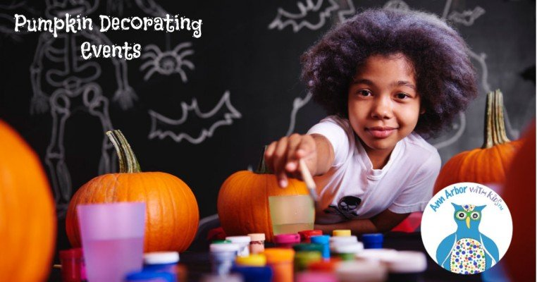 Ann Arbor Pumpkin Decorating Events
