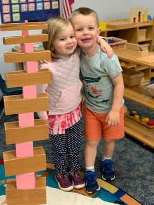 Daycroft Montessori Kids & Blocks