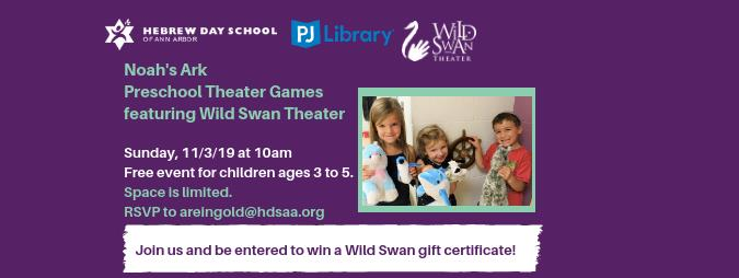 Preschool Theater Games with Wild Swan Theater