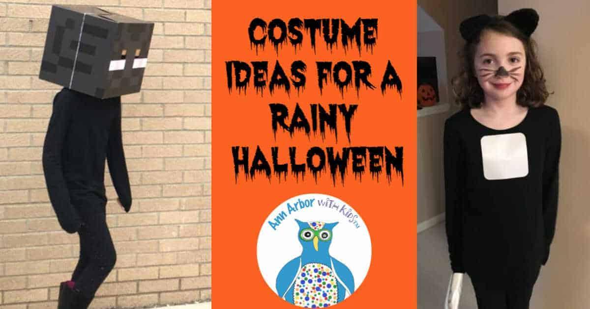 Costume Ideas for a Rainy Halloween