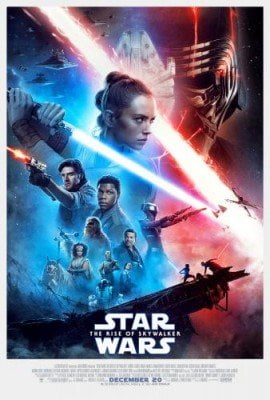 Star Wars Rise of Skywalker Movie Poster