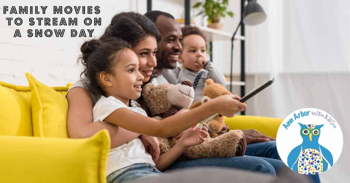 Family Movies to Stream on a Snow Day