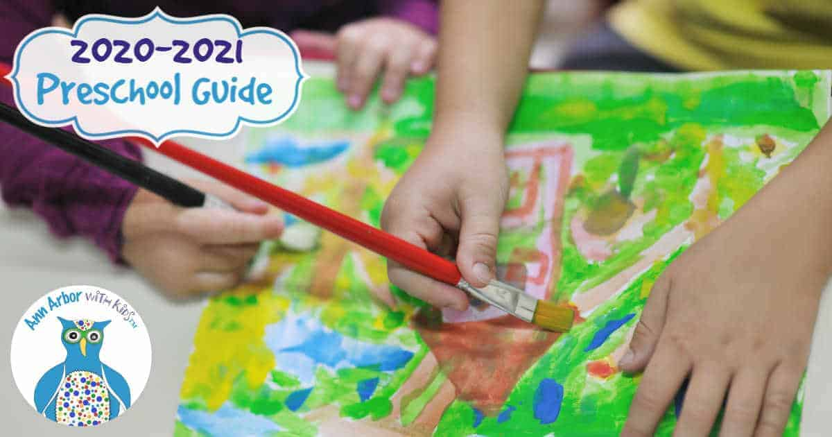 Ann Arbor Preschool Guide - 2020-2021