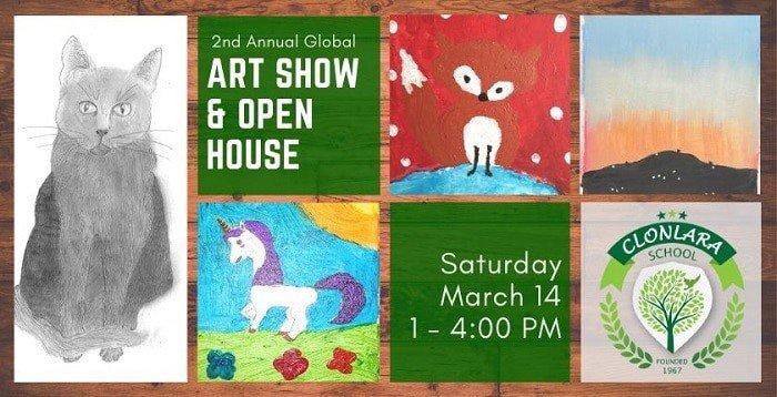Clonlara Art Show & Open House - Saturday, March 14 1-4p