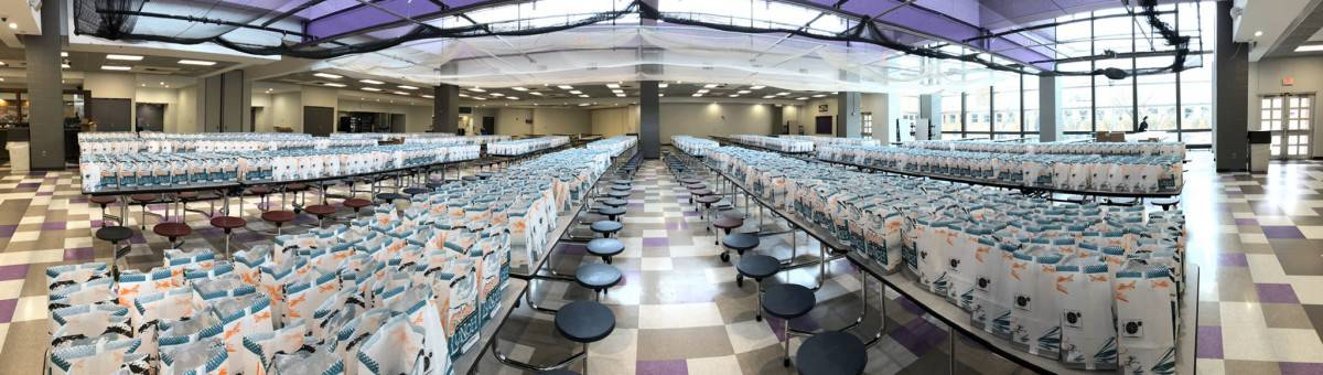AAPS School Lunches - Packed & Ready to deliver