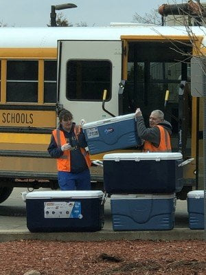 AAPS School Lunch Delivery