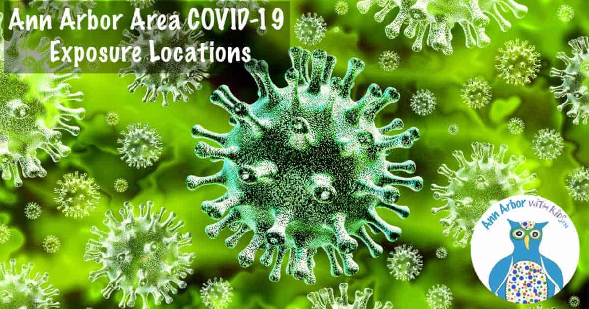Ann Arbor Area COVID-19 Exposure Locations