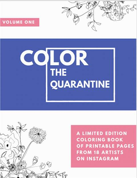 Color the Quarantine - Cover Image