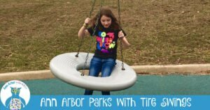 Ann Arbor Parks with Tire Swings