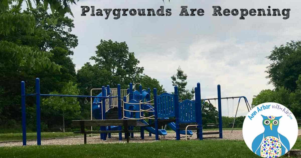 Ann Arbor Playgrounds Are Reopening