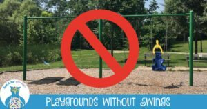 Ann Arbor Playgrounds without Swings