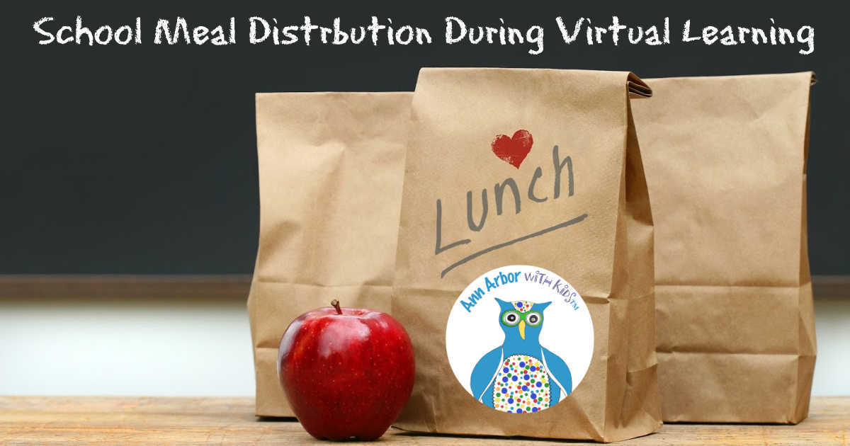 Ann Arbor School Lunch During Virtual Learning