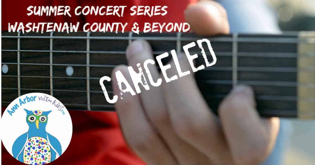 Ann Arbor Summer Concert Series - Canceled for 2020