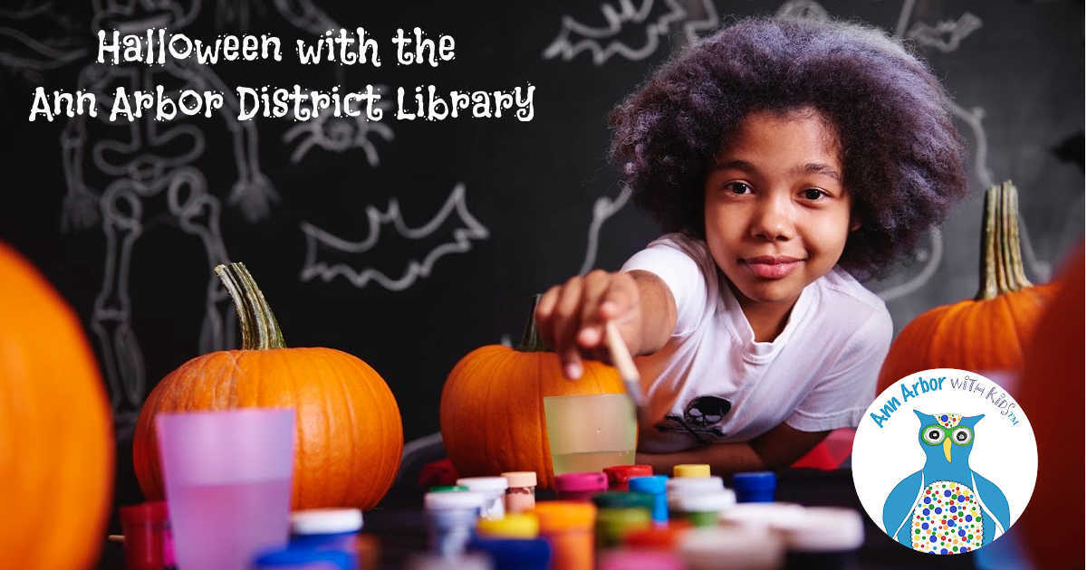 Halloween with the Ann Arbor District Library