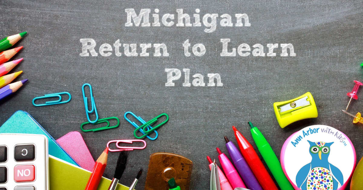 Michigan Return to Learn - Back to School Fall 2020