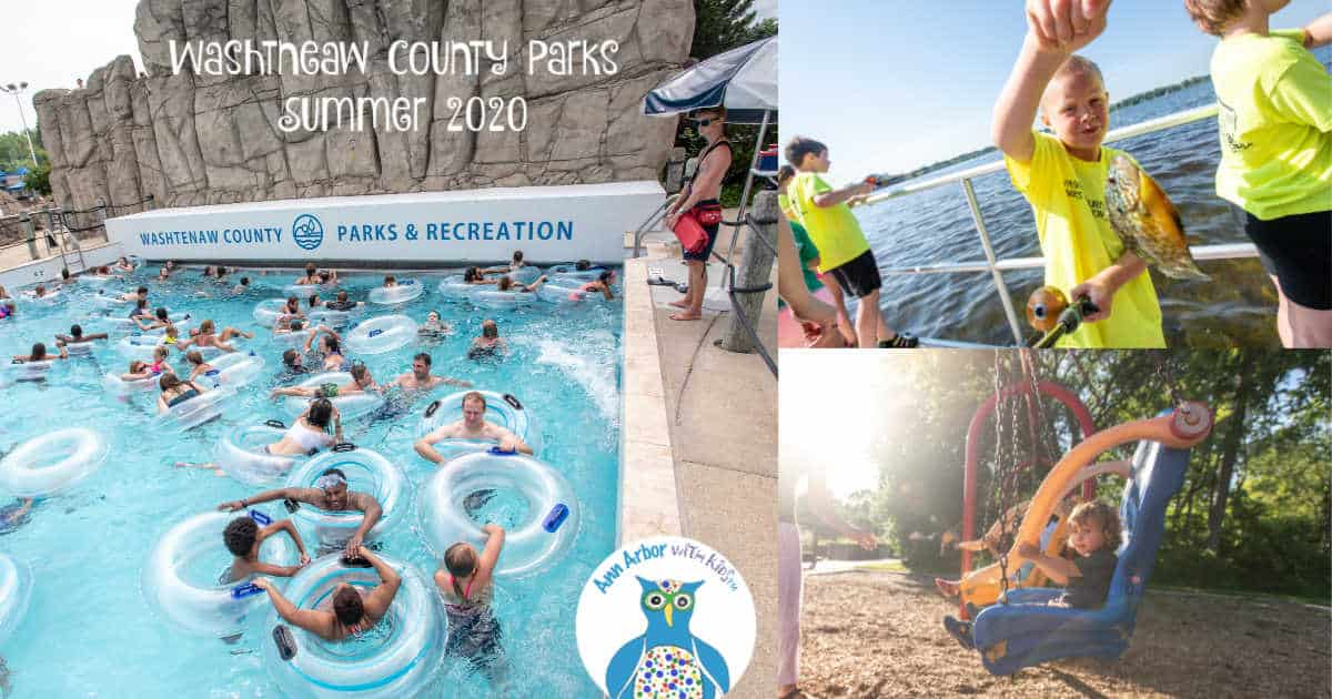 Washtenaw County Parks Summer 2020 Status Update