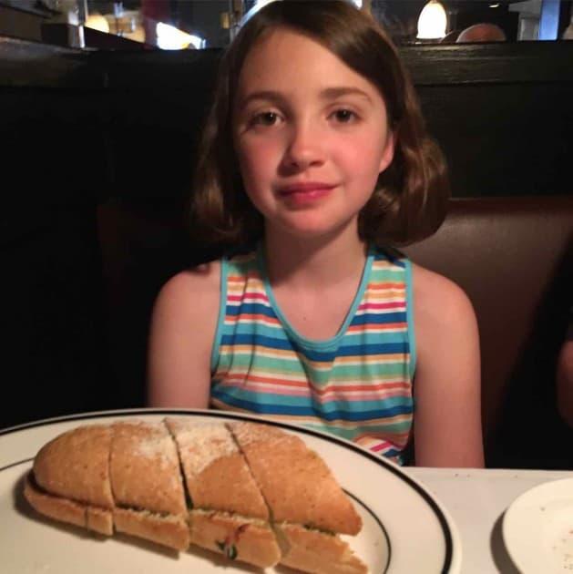 Weber's Restaurant - Spinach Bread